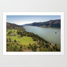 Columbia River Gorge Washington Art Print