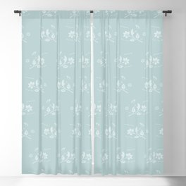 Floral Pattern #1 #decor #art #society6 Blackout Curtain