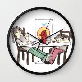 Hard-workers Wall Clock