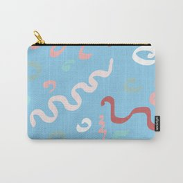 Spring Pastel Abstract Carry-All Pouch