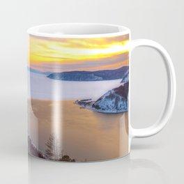 Lake Baikal and Angara River Coffee Mug