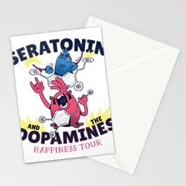 Molecules Rockband Stationery Cards