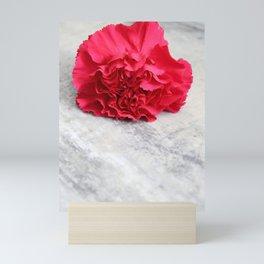 One Pink Carnation Mini Art Print