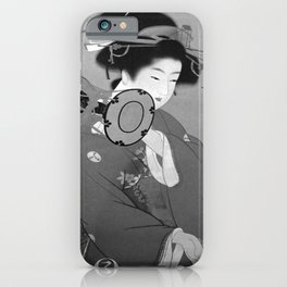 retro classic Japan poster iPhone Case