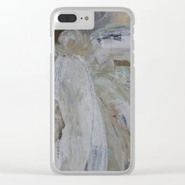 angel hope Clear iPhone Case