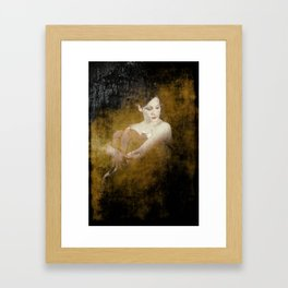 """Circus Performer"" Framed Art Print"
