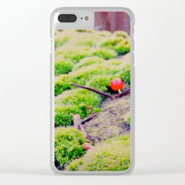 Moss - Sheffield Clear iPhone Case