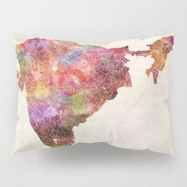 India map Pillow Sham