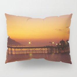 Malibu Pier Sunset * Southern California Pillow Sham