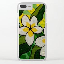 Samoan Pua Clear iPhone Case