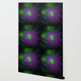 Purple Magic Flower Wallpaper