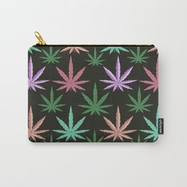 Marijuana Muted Colors Carry-All Pouch