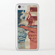 Blame US Clear iPhone Case