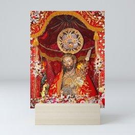 Senhor Santo Cristo dos Milagres Mini Art Print