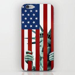 America's self-imprisonment iPhone Skin
