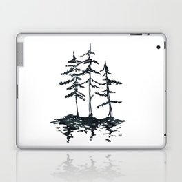 THE THREE SISTERS Black and White Laptop & iPad Skin