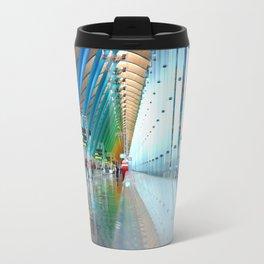 Rainbow at Barajas Travel Mug