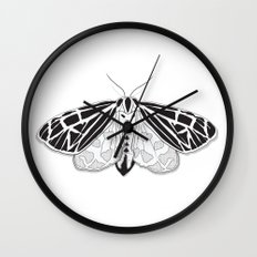 Virgin Tiger Moth Wall Clock