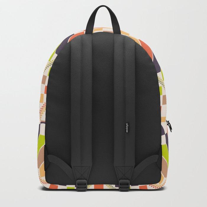 Retro avocado Backpack
