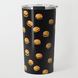 Fun Hamburger Party Pattern Travel Mug