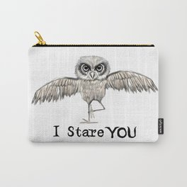 I Stare You Carry-All Pouch