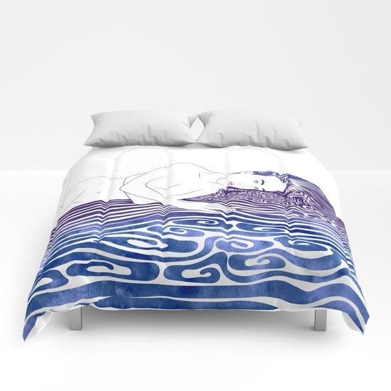 Water Nymph XLI Comforters