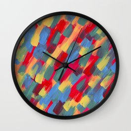 Abstraction flower Wall Clock
