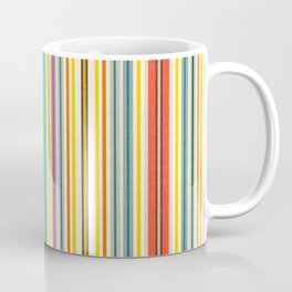 retro stripe Coffee Mug