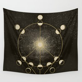 Vintage Astronomy Map Wall Tapestry