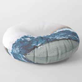 Iceberg Lake Floor Pillow