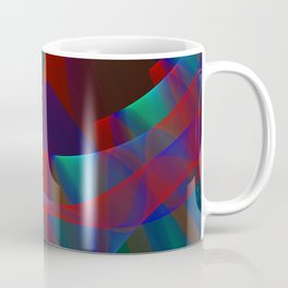 Waves and flow, fractal abstract Coffee Mug
