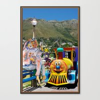 forever young Canvas Prints featuring Forever Young by CrismanArt