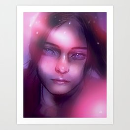 resident evil ¦ claire redfield Art Print