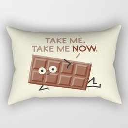 Sweet Talk Rectangular Pillow