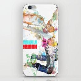 Make a splash! iPhone Skin