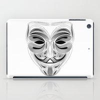 anonymous iPad Cases featuring Anonymous by Tuyệt Duyệt