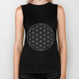 Pure Energy The Flower of Life Biker Tank