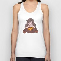 potato Tank Tops featuring Potato Princess by StickyHunter