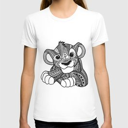 Zentangle Simba T-shirt