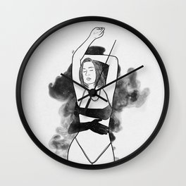 Night touches. Wall Clock