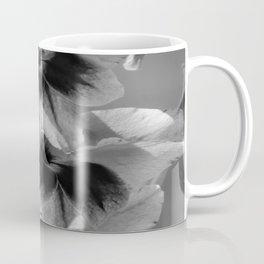 Black and White Flower Coffee Mug