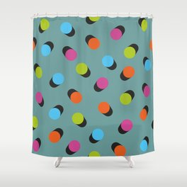Dots pattern Shower Curtain