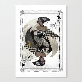 Queen of Carbon Canvas Print