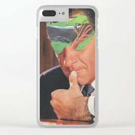 Internal Conflict Clear iPhone Case