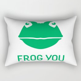 Frog You Rectangular Pillow