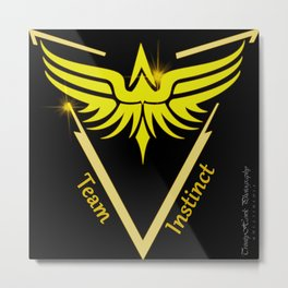 Instinct Team - Show Your Pride Metal Print