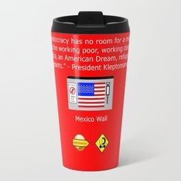 The Plutocracy in America Travel Mug