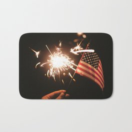 Happy America Bath Mat