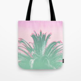 Palm Tree Leaves Tropical Vibes Design Tote Bag