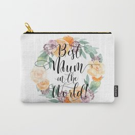 Best Mum in the World! Carry-All Pouch